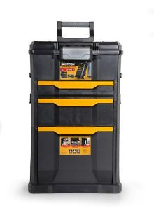 Stanley Bostitch Rolling Tool Box Chest Storage Cabinet Mechanics Portable