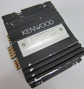 Kenwood 4 Channel Power Amplifier Model KAC 648s