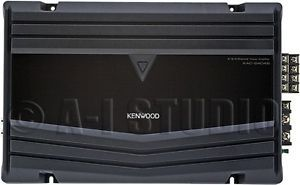 Kenwood KAC 2404s Car Audio Class AB 4 3 2 Channel CH 500W Power Amplifier Amp