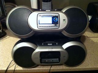 Lifetime Subscription Sirius XM Sportster Boombox Reciever and EXTRAS Used