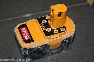 Ryobi P100 One 18V NiCd Ni CD Ni CAD Rechargeable Battery for Power Tools