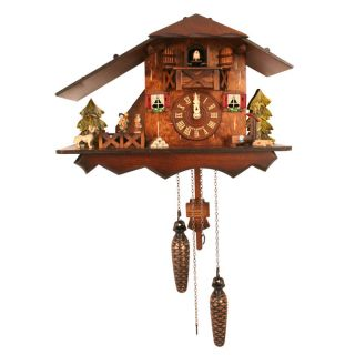 Black Forest Cuckoo Clock Big Roof Style