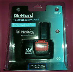 Craftsman Diehard 12 Volt Cordless Drill Power Tools Battery Pack Brand New Tool