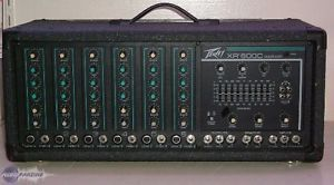 Peavey XR600C Mixer Amp Pro Audio Equipment