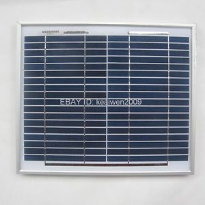18V 10W Solar Panel Charge 12V DC RV Battery Solar Panel Power System Best