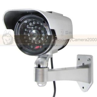 Solar Energy Outdoor Waterproof IR Fake Security Camera