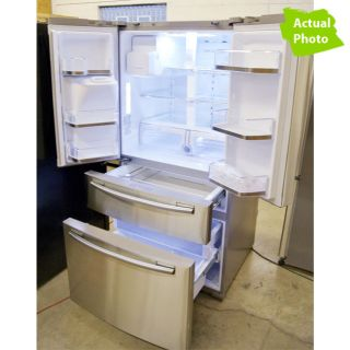 Samsung RF4267HARS 26 CU ft French 4 Door Refrigerator with Flex Zone 622F 036725560673