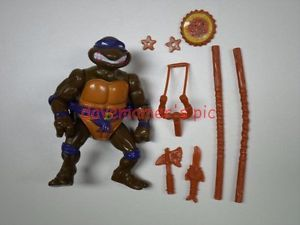 Teenage Mutant Ninja Turtles TMNT 1991 Storage Shell Don Donatello Complete