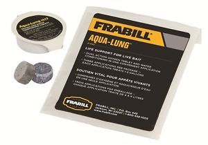 Frabill Aqualung Aeration Tablets Aerator for Live Bait Kayak Fishing