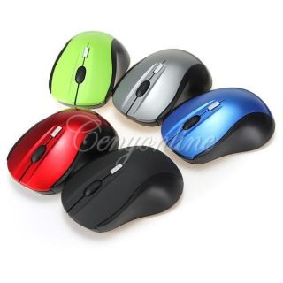 4D 2 4GHz 1600 dpi Wireless Optical Game Gaming Mouse Mice for PC Laptop Win 7 8