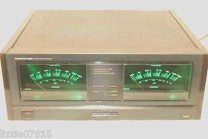 Onkyo Integra M 504 2 Channel Stereo Power Amplifier Vintage HiFi Audio LED Lamp