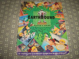 Earthbound Player's Guide Strategy Super Nintendo SNES Very RARE Acceptable