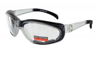 Pagos 2 Foam Padded Safety Glasses with RX Frame