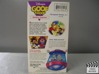Goof Troop Banding Together VHS Disney Home Video 717951695031