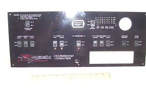 Weekend Warrior RV Monitor Panel Light Switches Water Tank Monitor HR Meter