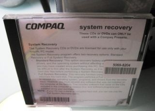 "Compaq Presario Computer w 17"" LCD Monitor Speakers Wireless Keyboard Mouse"
