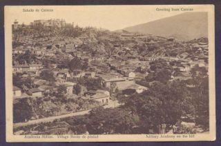 Venezuela Postcard Caracas Military Academy on The Hill L K