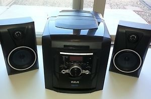 RCA RS22162S Shelf Stereo System 5 CD Changer Player Am FM Radio w Aux In