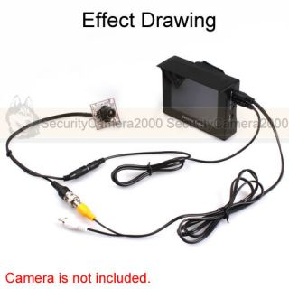 Portable Audio Video CCTV Security Tester Tools with 4 0'' Color TFT LCD Monitor