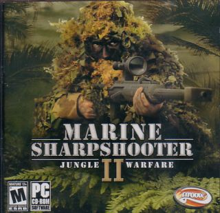 Marine Sharpshooter II 2 Jungle Warfare PC Game New JC 742725257559