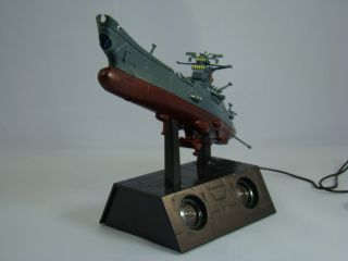 Taito Space Battleship Yamato Stereo Speaker Model Star Blazers Leiji Matsumoto