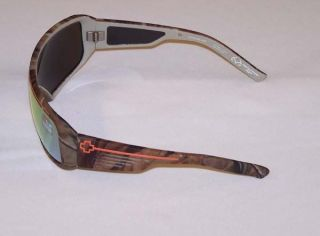 Spy Sunglasses Tron Real Tree Camo Orange Spectra TNRT85 New