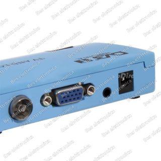 Decoder Mini DVB T Digitale Terrestre USB Rec Monitor Uscita VGA