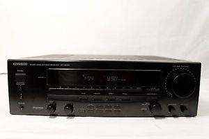Kenwood KR V6050 Audio Video Stereo Receiver 60 Watts per Channel