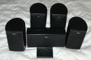 Klipsch Quintet Surround Sound Home Theater System 5 Speakers 013964253788