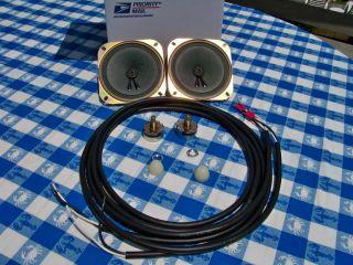 New do It Yourself Drive in Speaker Restoration Kit