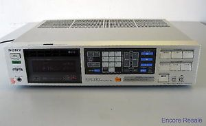 Sony Str VX550 Stereo Receiver Am FM Audio Video Computer Control Center
