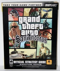 Grand Theft Auto San Andreas Guide