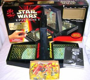 1999 Tiger Electronics Star Wars Episode 1 Galactic Battle Strategy Game SFX 5