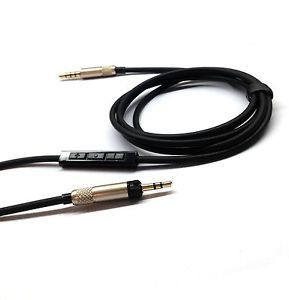 Replacement Cable with Remote Mic Connect iPhone to Sennheiser HD598 HD558 HD518