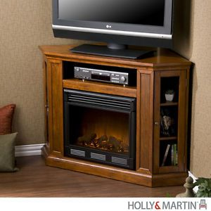 Electric Fireplace Media Stand