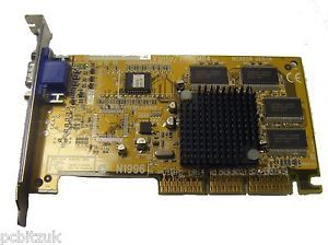 MSI MS8808 Ver 1A Vanta TNT2M64 32MB AGP Graphics Card