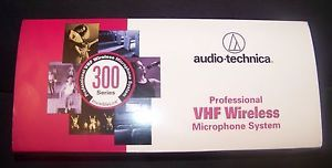 Audio Technica Professional VHF Wireless Microphone System ATW 0327 300 Series