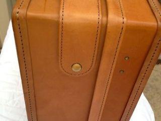 "Vintage Hartmann Luggage Belting 21"" Leather Suitcase"