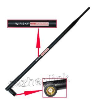 High Power 56g USB Wireless WiFi Adapter 10dBi Antenna