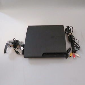 Sony PlayStation 3 CECH 3001B Video Game Console PS3 320GB
