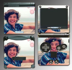 One Direction Harry Styles Take Me Home Video Game Skin Cover Nintendo GBA SP