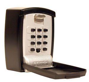 Wall Mount House Key Lock Box Senior Citizen Medical Emergency Safe Padlock New