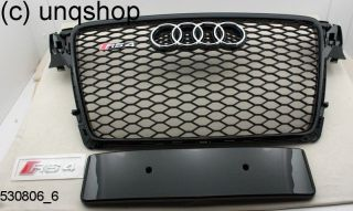 Audi A4 B8 Single Frame Grill RS4 Style