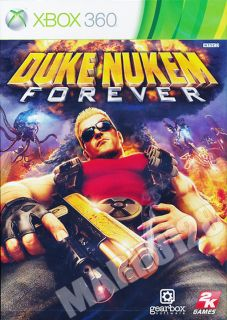 Duke Nukem Forever 2011 Xbox 360 Game Region Free