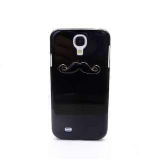 Sexy Chaplin Dumb Show 3D Mustache Case Cover for Samsung Galaxy S4 I9500