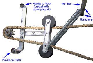 New Micro Sprint Chain Tensioner Kit Mini Sprint 600