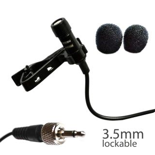 Ultradisk 4016 Sennheiser Screw Lock Thread 3 5mm Lavalier Tie Clip Microphone