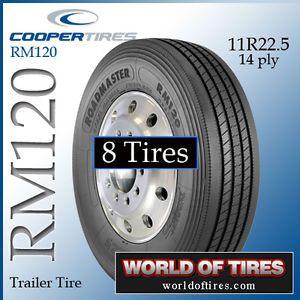 8 Tires Roadmaster RM120 11R22 5 Semi Truck Tires 22 5LP Truck Tires 11225 Tires