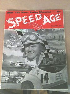 1948 February Speed Age The Motor Racing Magazine Stock Car Hoosier Hot Rods