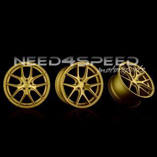 """19"""" Avant Garde M580 Gold Wheels Rims Fits BMW E92 E93 M3 Coupe"""